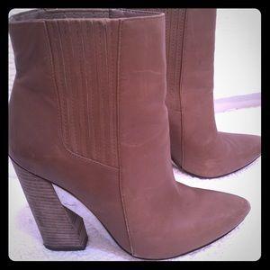 Bcbg tan boots 7.5